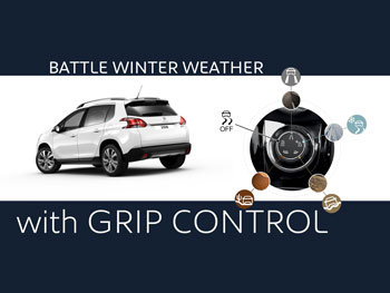 grip control peugeot 39 s solution to winter weather driving. Black Bedroom Furniture Sets. Home Design Ideas