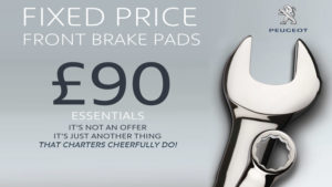 peugeot_fixed_price_front_brake_pads_90_fitted_aldershot_camberley