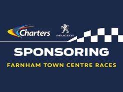charters-peugeot-sponsors-farnham-town-centre-races-nwn