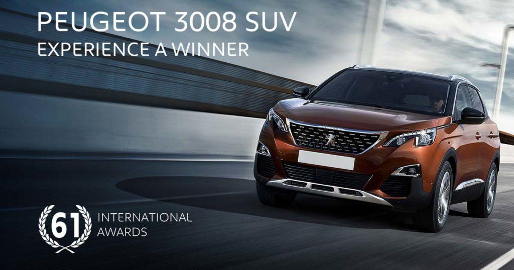 3008 SUV 61 international awards