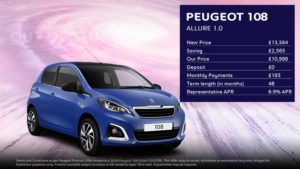 Calvi Blue 108 Allure · £193 per month with £0 deposit