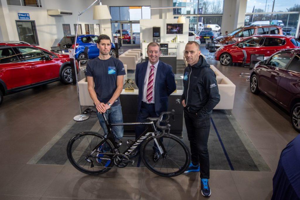 charters-peugeot-aldershot-sponsor-canyon-dhb-cycling-team