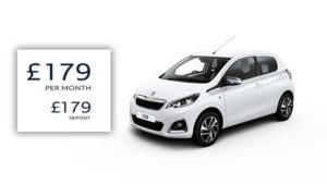 Passport | £179 deposit | £179 per month | 108 Collection 1-litre PureTech
