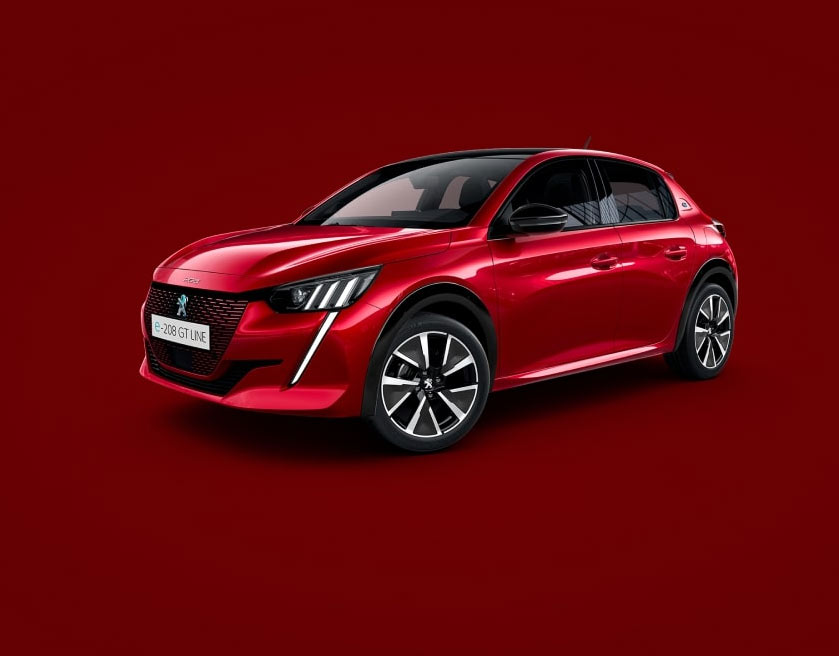 new-peugeot-208-red