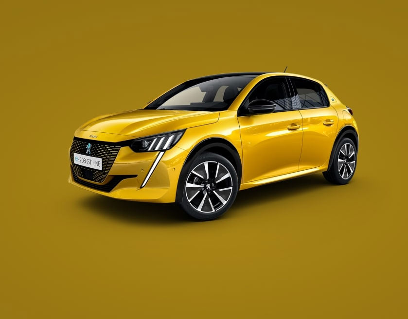 new-peugeot-208-yellow