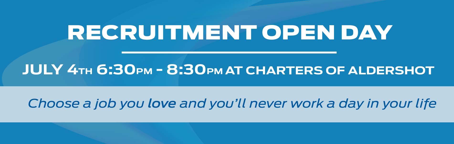 recruitment-day-aldershot-hampshire-sli