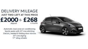 208 GT Line 110 Auto 5 Door Auto | Delivery Mileage special £268 a month
