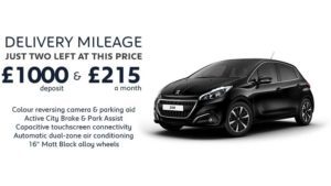 208 Tech Edition 1.2 5 Door Manual | Delivery Mileage special £215 a month