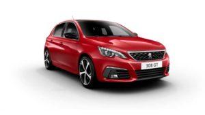 Business Contract Hire   £195 per month   308 GT Line 1.2L PureTech 130 S&S