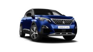 Business Contract Hire | £245 per month | 3008 SUV GT Line Premium 1.5L BlueHDi 130 S&S
