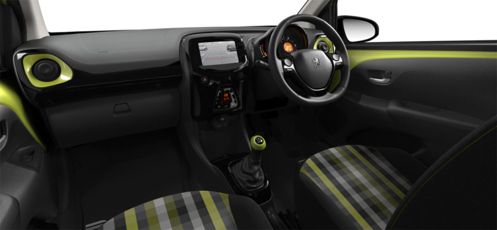 peugeot-108-green-fizz-collection-interior