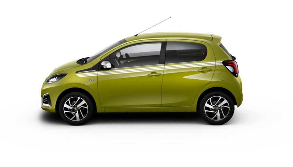 peugeot-108-green-fizz-collection-side-profile